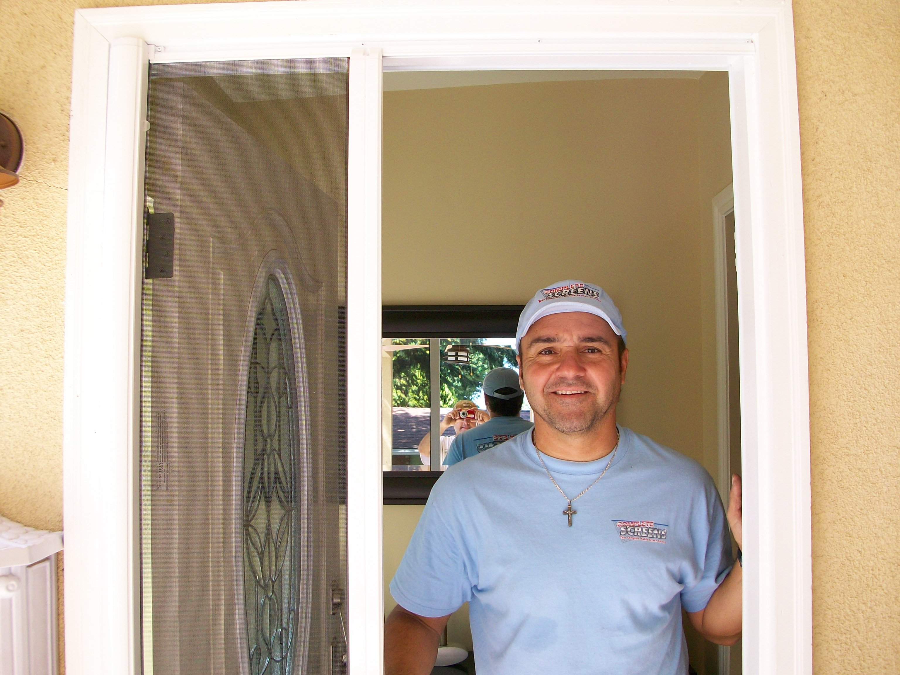 Screen Door Licensed Contractor Custom Retractable Screen Doors