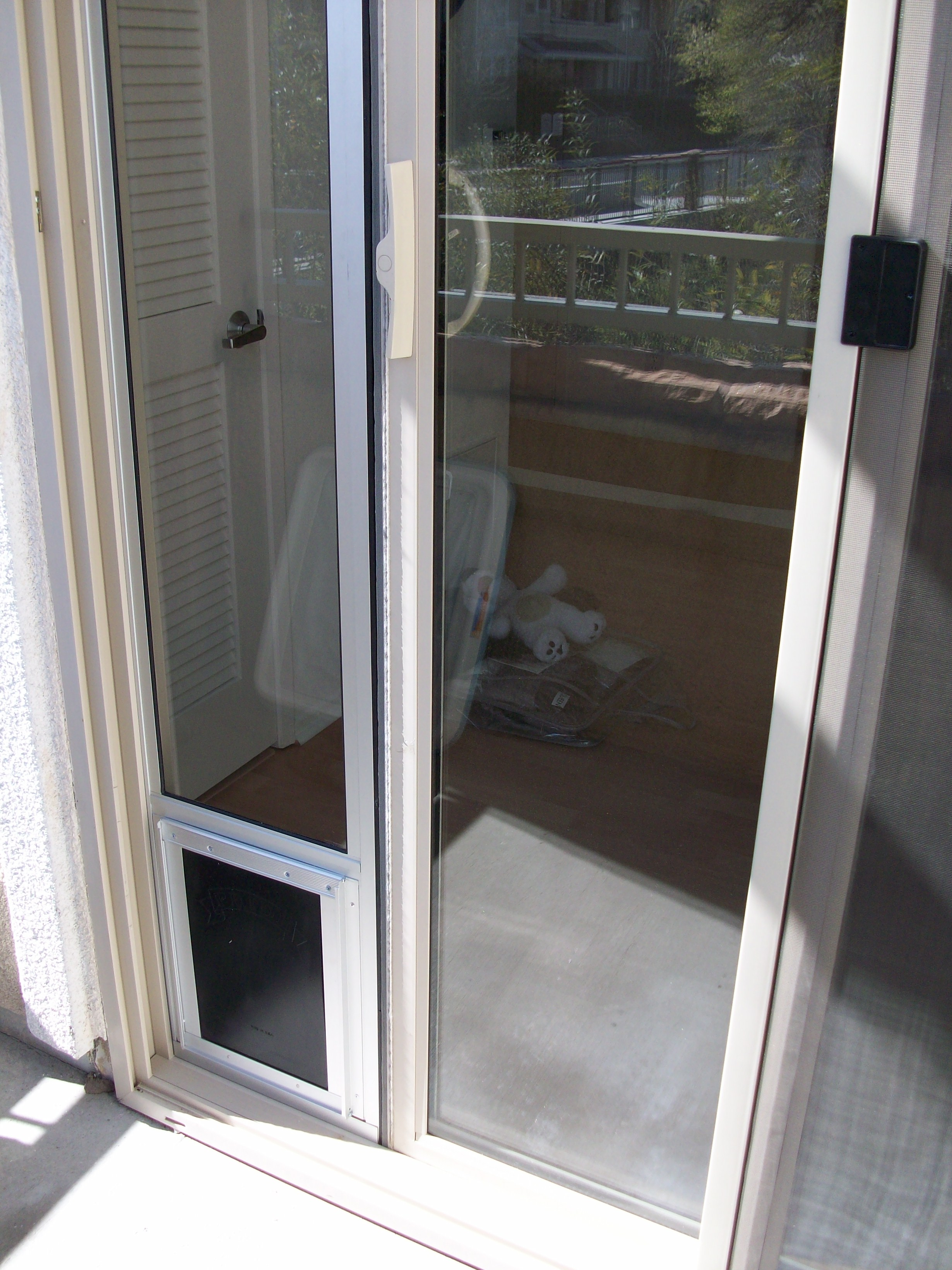 Pet door panel for sliding screen door retractable for Screen door for sliding glass door