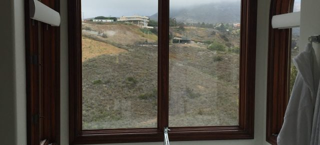Arched Window Screens in Calabasas