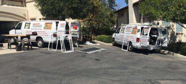 Mobile Screen Screen in Topanga, CA.