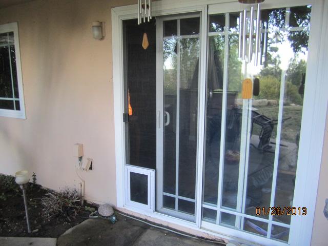 Sliding Screen Door Guard For Dogs Sliding Door Designs