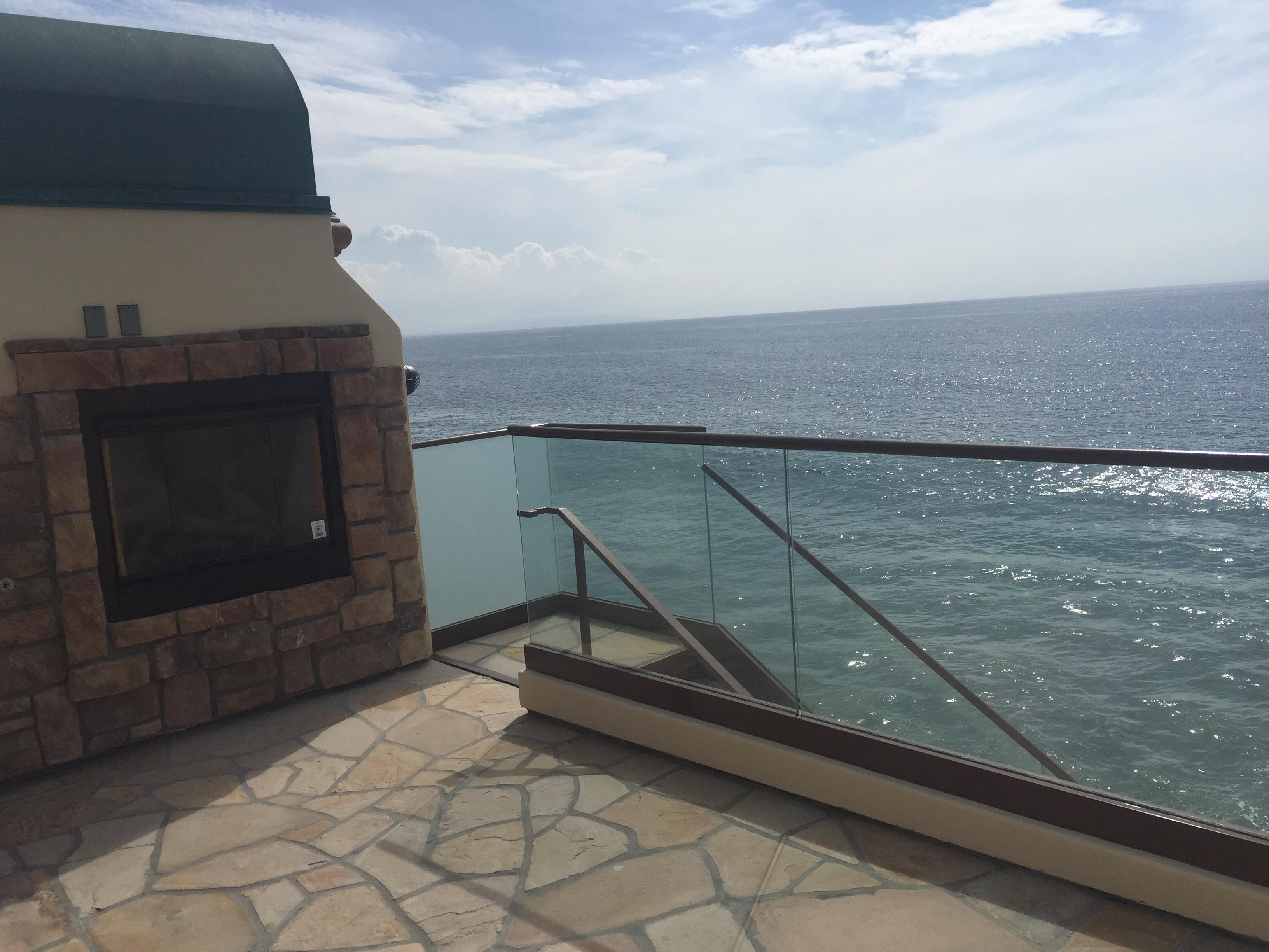 Sliding Patio Screen doors installed in Malibu home