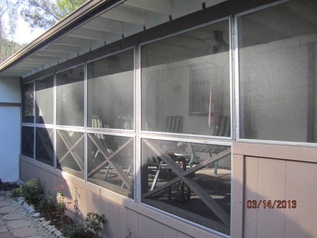 Patio Enclosure Panels installed in Canoga Park