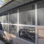 Patio Enclosure Panels installed in Canoga Park
