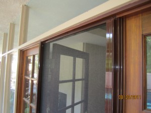 Open Retractable Door