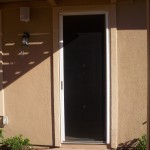 Retractable Screen on Single Door in Sherman Oaks