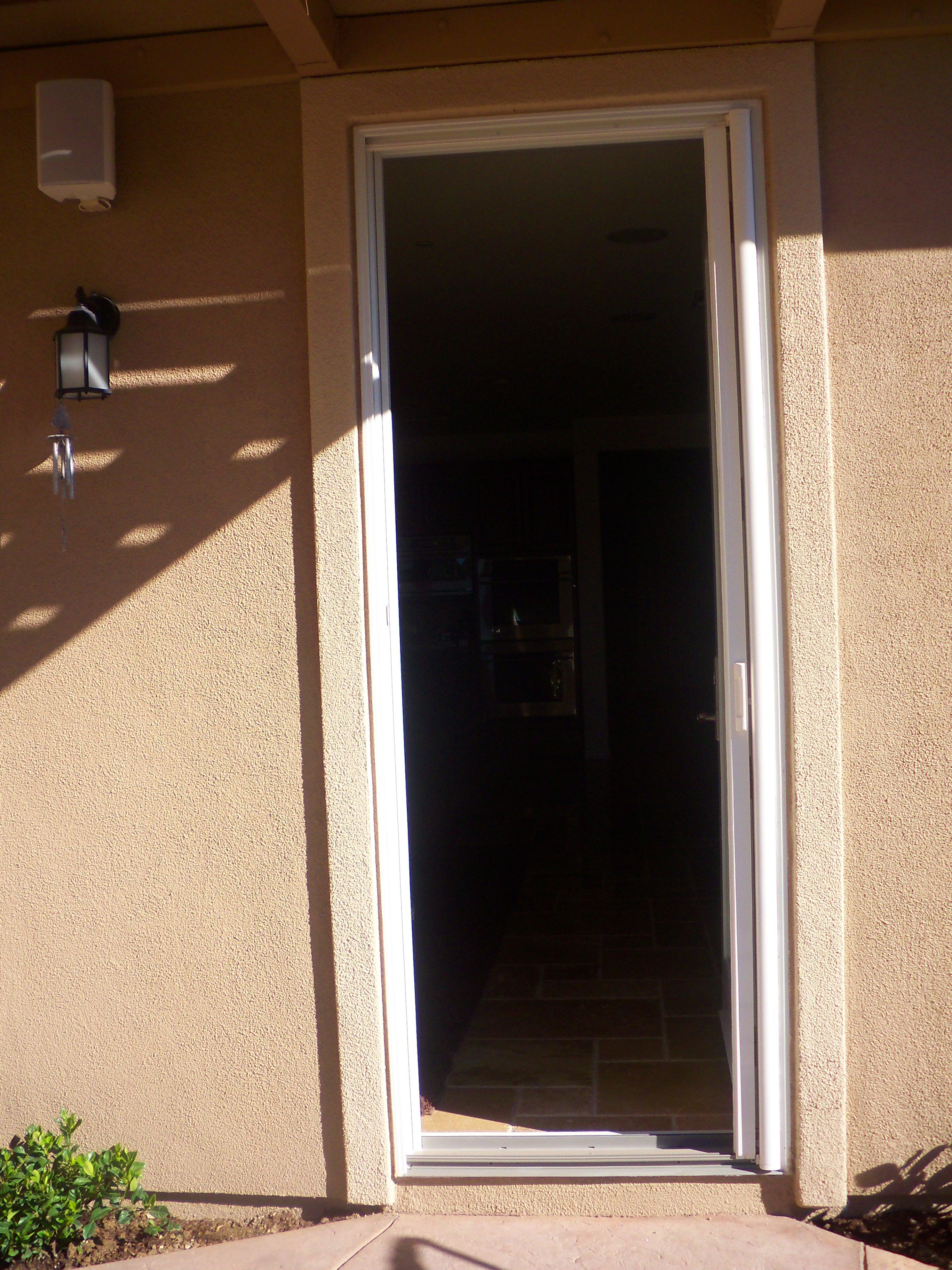Retractable Screen on Single Door in Sherman Oaks