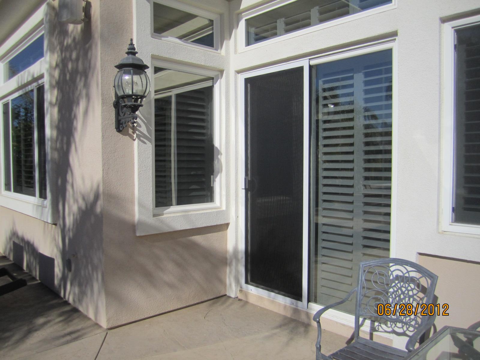 Patio Sliding Screen Doors in Northridge