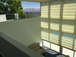 Window Screen Replacement in White Frames