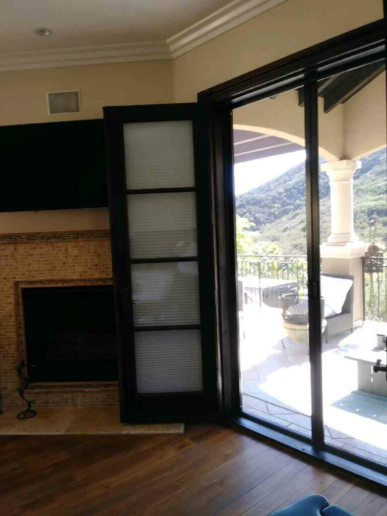 Encino Bronze Retractable Screen Doors